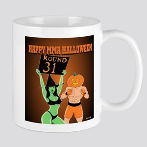 MMA Halloween Fighter and Ring Girl Mug
