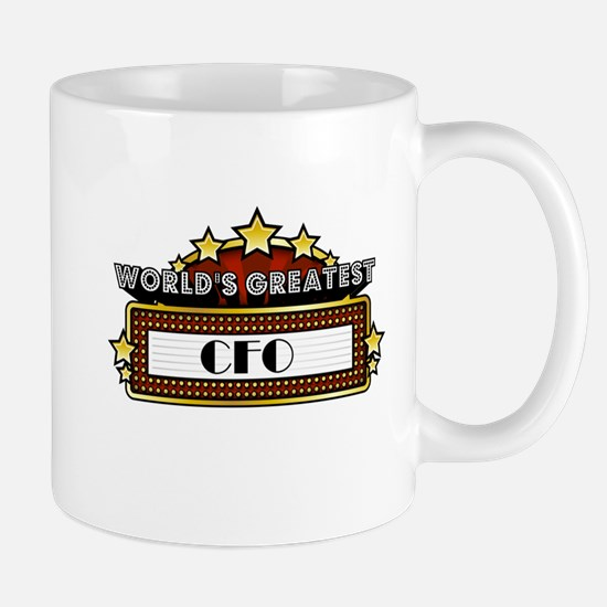 World's Greatest CFO Mug