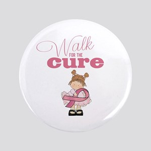 Kids Walk for the Cure Button 3.5""