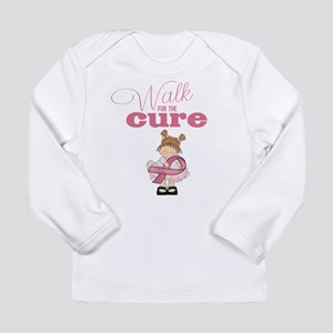 Kids Walk for the Cure Long Sleeve Infant T-Shirt