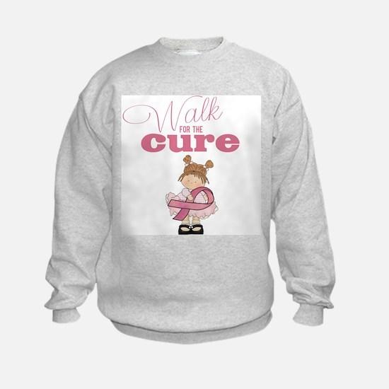 Kids Walk for the Cure Sweatshirt