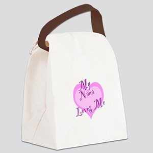 My Nana Loves Me Canvas Lunch Bag