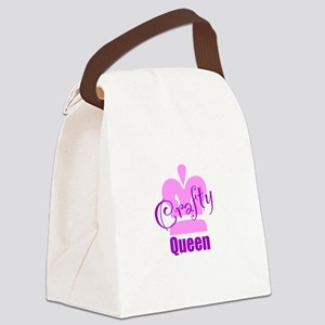 Crafty Queen Canvas Lunch Bag