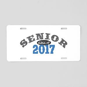 Senior Class of 2017 Aluminum License Plate
