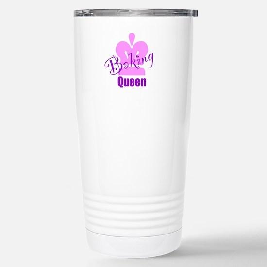 Baking Queen Stainless Steel Travel Mug