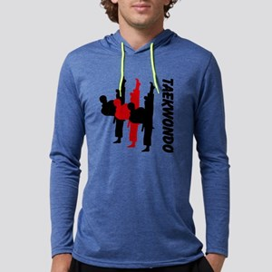 Taekwondo Mens Hooded Shirt