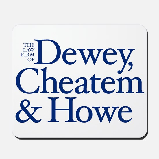 Dewey, Cheatem and Howe - Mousepad