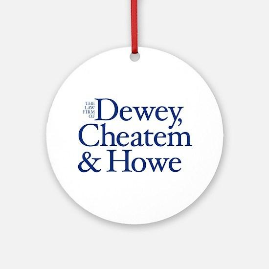 Dewey, Cheatem and Howe - Ornament (Round)