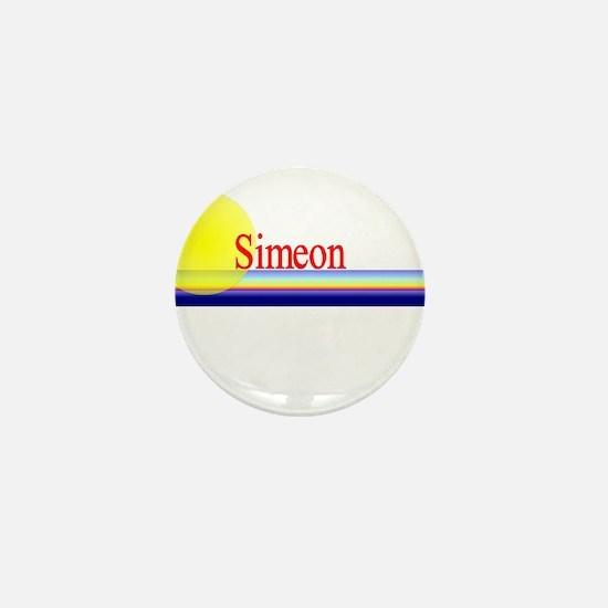 Simeon Mini Button
