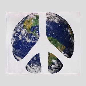 World Peace Throw Blanket