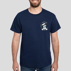 B/W Shih Tzu Pkt IAAM Dark T-Shirt