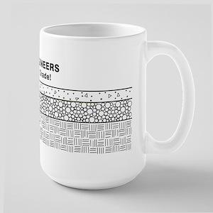 Civil Engineers Make the Grade Large Mug