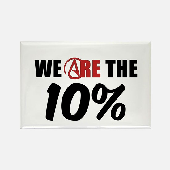 We Are The 10 Percent Rectangle Magnet