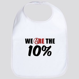 We Are The 10 Percent Bib