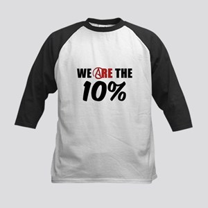 We Are The 10 Percent Kids Baseball Jersey