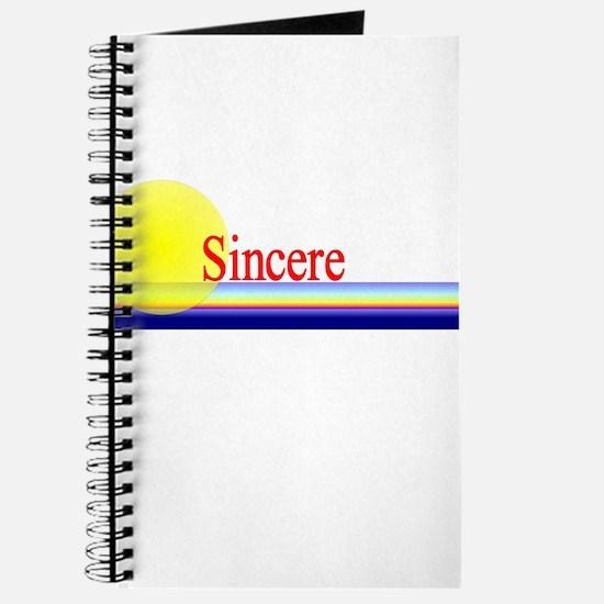 Sincere Journal