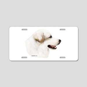Great Pyrenees Aluminum License Plate