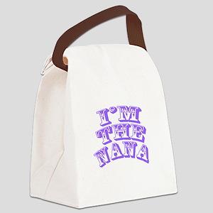 Im The Nana Canvas Lunch Bag