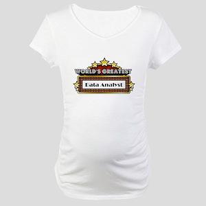 World's Greatest Data Analyst Maternity T-Shirt