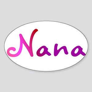 Cool Nana Sticker (Oval)