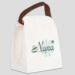 Nanas Garden Canvas Lunch Bag