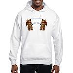 Teddy Bear Fencers Hooded Sweatshirt