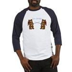 Teddy Bear Fencers Baseball Jersey
