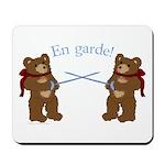 Teddy Bear Fencers Mousepad