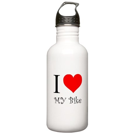 I Love my bike Stainless Water Bottle 1.0L