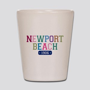Newport Beach 1906 Shot Glass