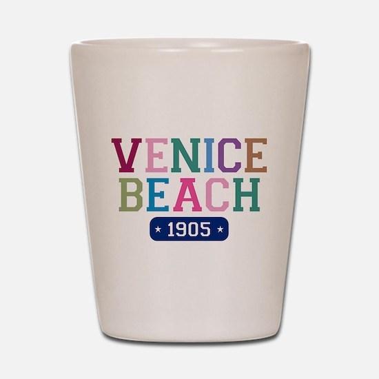 Venice Beach 1905 Shot Glass