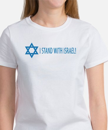 I Stand with Israel Women's T-Shirt