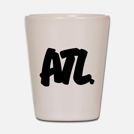 ATL Brushed Shot Glass