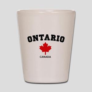 Ontario Shot Glass