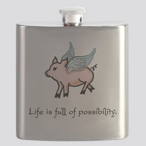 Flying Pig Flask