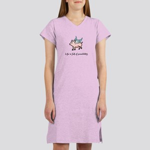 Flying Pig Women's Nightshirt