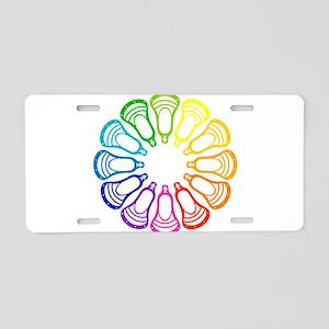 Lacrosse Spectrum Aluminum License Plate