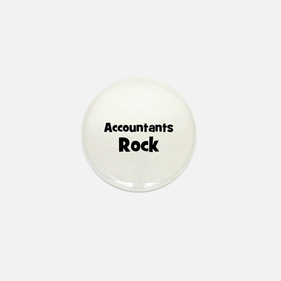 ACCOUNTANTS Rock Mini Button