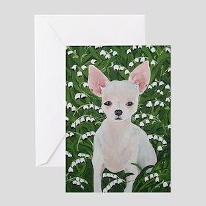 """Chihuahua"" Greeting Card"