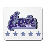 Epee Fencing Mousepad