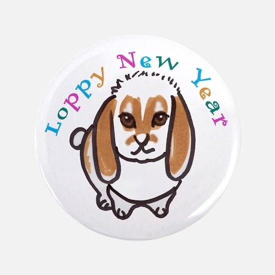 "Loppy New Year 3.5"" Button"