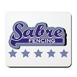 Sabre Fencing Mousepad