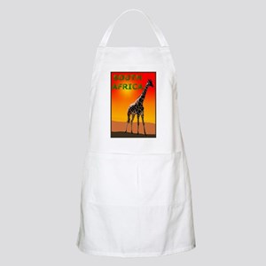 Giraffe South Africa BBQ Apron