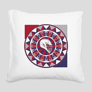 Lacrosse Shakey Dartboard Square Canvas Pillow