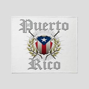 Puerto Rico Throw Blanket