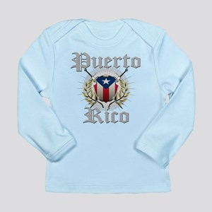 Puerto Rico Long Sleeve Infant T-Shirt