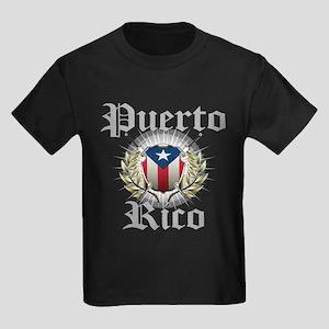 Puerto Rico Kids Dark T-Shirt