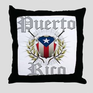 Puerto Rico Throw Pillow