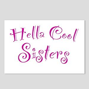 Hella Cool Sisters Postcards (Package of 8)