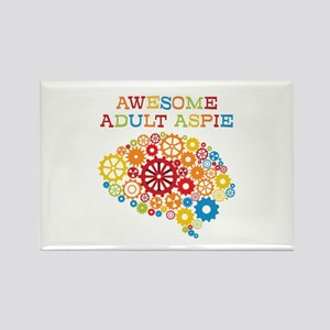 Aspie Adult Autism Rectangle Magnet